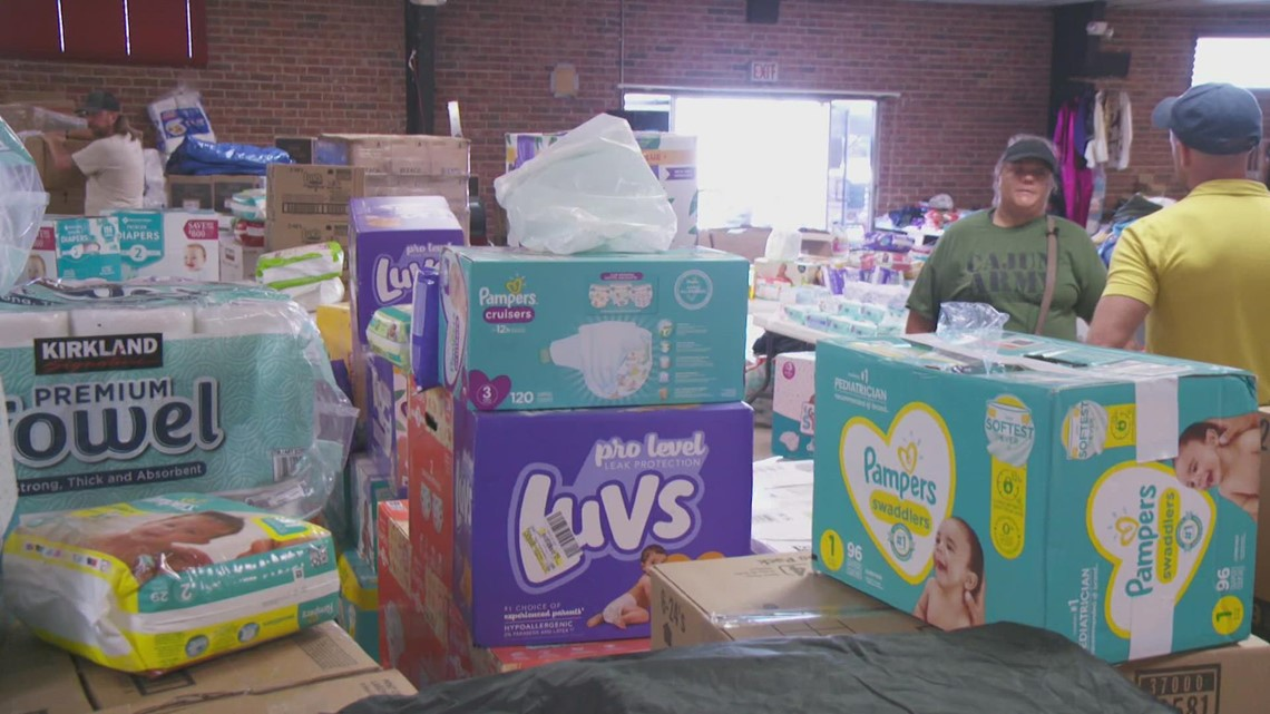 Donations provide relief after Ida in Terrebonne