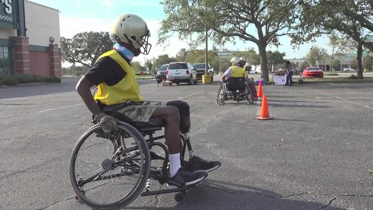 Meet the Rolling Saints, New Orleans' wheelchair football team