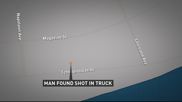 Man found shot to death in truck, police say