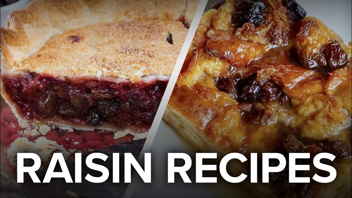 Recipe: Rum Soaked Raisin Bread Pudding and an Old Timey Raisin Pie
