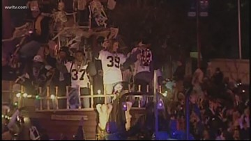 A Saints parade for the 'Krewe of Drew?'