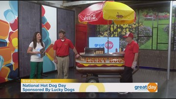 National Hot Dog Day with Lucky Dogs