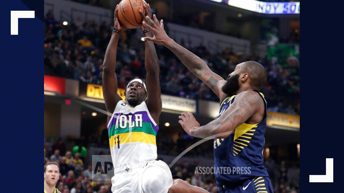 Pelicans can't hold off rally, Pacers win 126-111