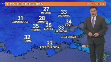 Pinpoint Forecast: Cold and Breezy With Drizzle Wednesday
