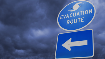 LIST: Evacuation orders lifted in some Southeast Louisiana parishes