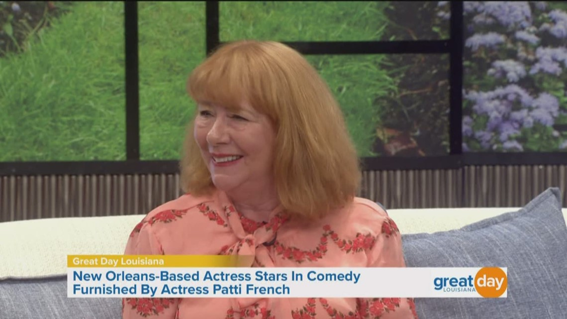 Actress Patti French joins us in the studio