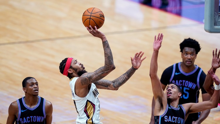 Pelicans hold on for 117-110 victory over Kings