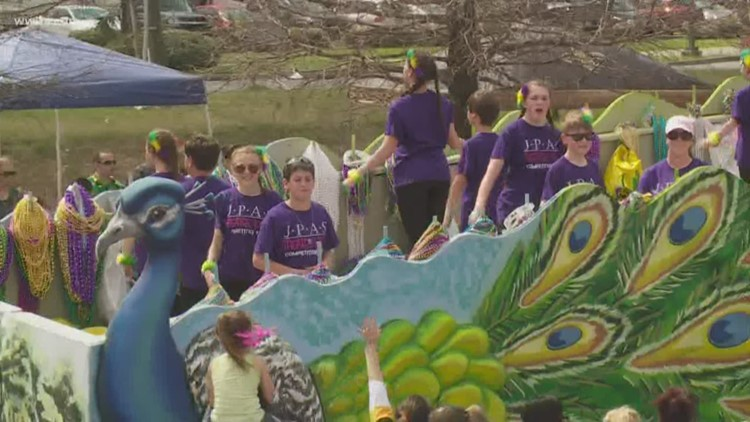 Metairie store owner donates entire float to Children's Hospital