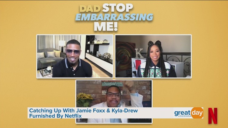 Jamie Foxx and Kyla-Drew Discuss 'Dad Stop Embarrassing Me!'