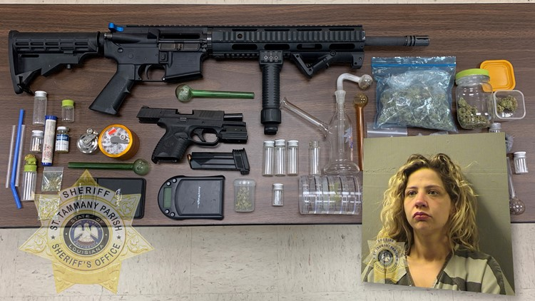 Slidell couple faces several drug, weapon charges