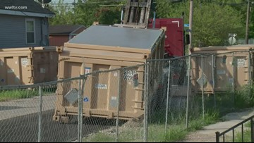 Dumpsters of radioactive material removed from Gert Town neighborhood