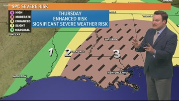 Weather Expert Forecast: Rare risk of significant severe storms