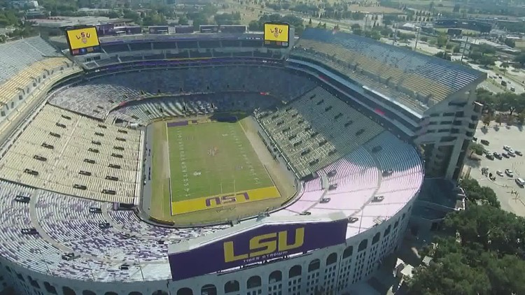 Vaccine or negative tests no longer needed to go to LSU football games