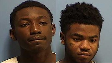 2 arrested, 2 others sought for string of vehicle burglaries in Covington area