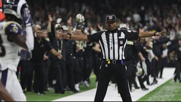 Video: New Orleans police investigate Saints-Rams 'no-call'