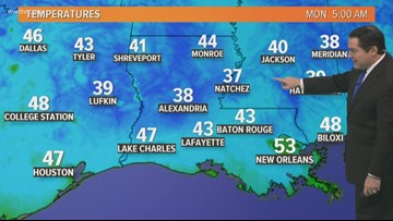 Cool weather continues today with mostly cloudy skies