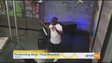 Chart-topping gospel music from Titus Showers