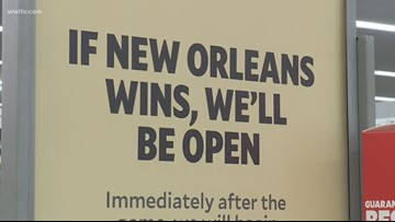 Retailers gear up ahead of Saints NFC title game