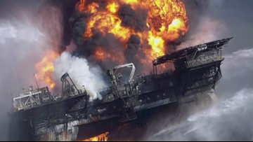 7th anniversary of the Deep Water Horizon Oil Rig explosion