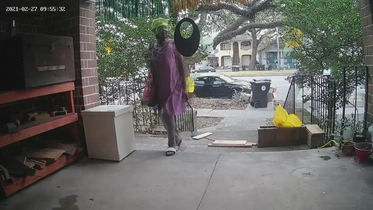 Neighbors hope arrest sends message to New Orleans package thieves
