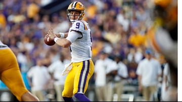 LSU QB Joe Burrow named SEC Offensive Player of the Week after recording-setting 5 TDs in 1 half