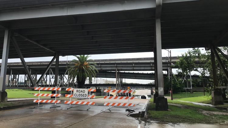 S.Carrollton Ave. at I-10 underpass