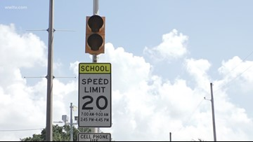 New Orleans pauses traffic cameras in school zones for summer