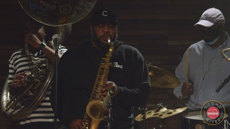 Live music is back in New Orleans   Soul Rebels at Broadside — March 5 tickets? Sold out