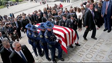 Memorials for former governor Blanco move to her Cajun home