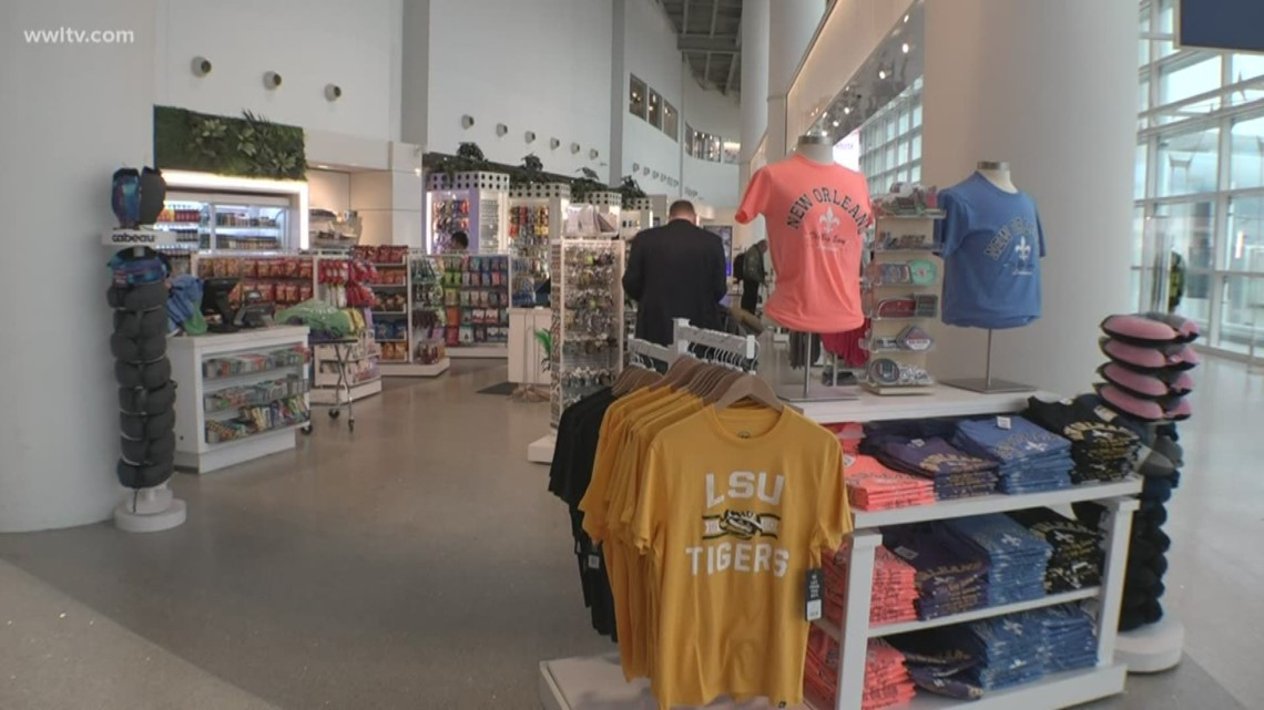 Eating, drinking and shopping: Sales on the rise at new MSY airport terminal
