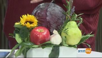 How to make an edible table display