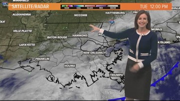 Pinpoint Forecast: Cool but sun emerges late Tuesday