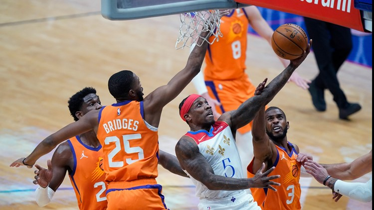 Paul has 19 assists, Suns rally to beat Pelicans 132-114