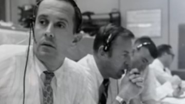 Voice of Mission Control remembers the heart-stopping moments before Apollo 11 moon landing