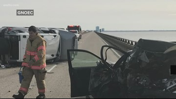 Woman killed in Causeway crash identified, stopped to wait for help with broken-down car