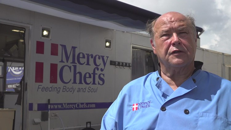 Chef with ties to Louisiana helping to feed the needy in the aftermath of Ida
