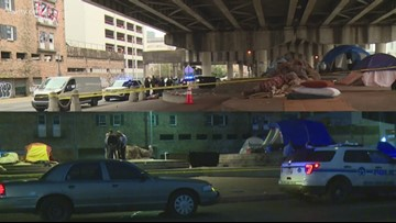 Police find 2 men shot dead in 6 days under I-10 overpass at Canal Street