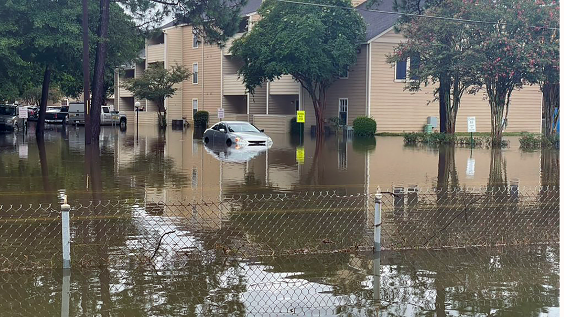 Early morning storms flood homes, streets in Mandeville