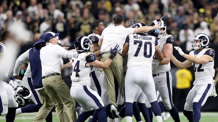 Rams DB: 'I got away with one tonight'