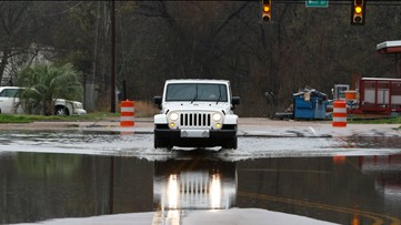 Rising Pearl River to crest at near-record levels on Northshore