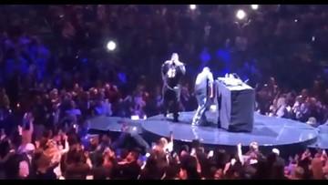 Watch: Choppa opens Justin Timberlake concert with 'Choppa Style,' and 'Who Dat' chant