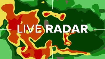 Track rain on animated radar