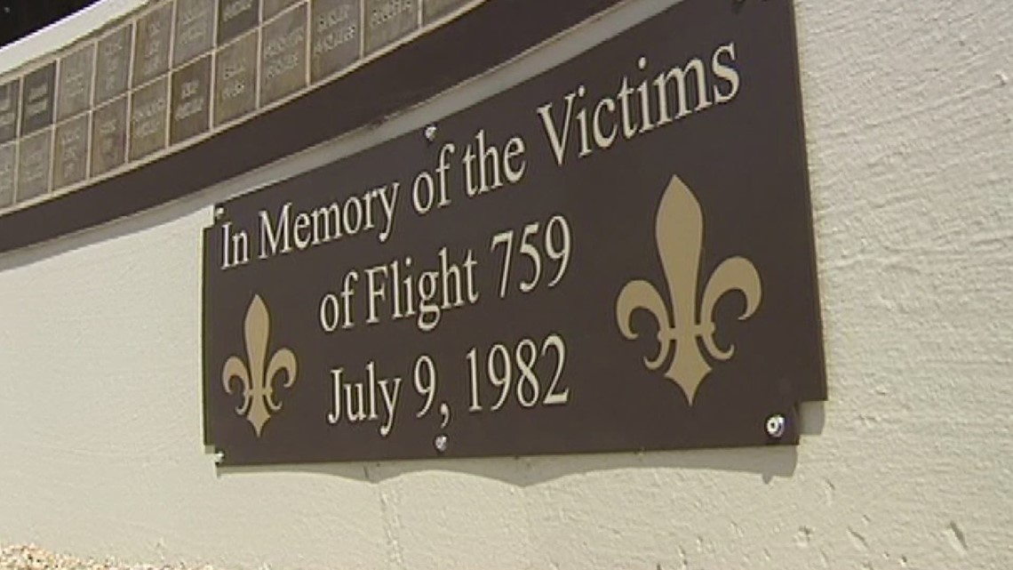 39th anniversary of crash of Pan Am flight 759 in Kenner