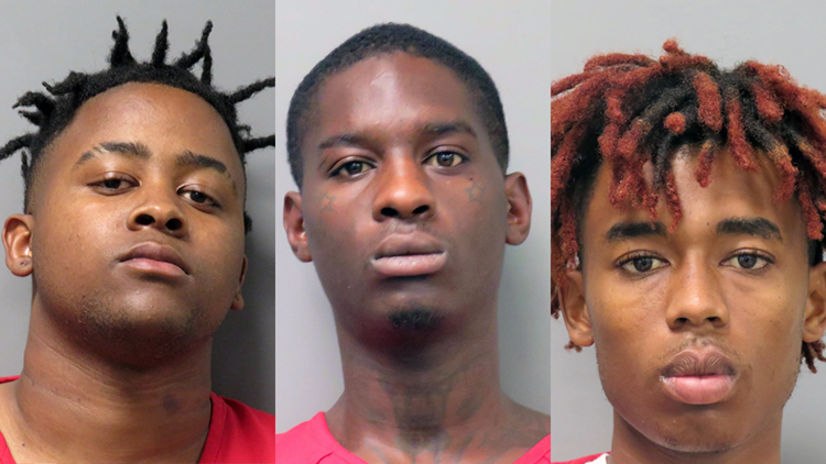 Three arrested after police chase through Raceland