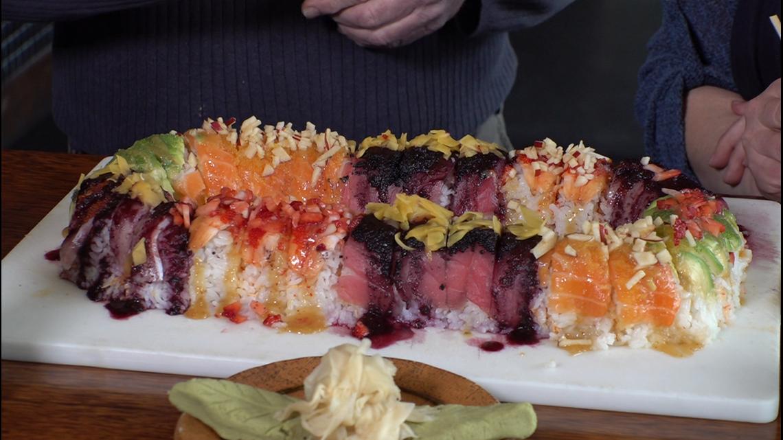 Local Restaurant Creates Sushi King Cake Wwltv Com