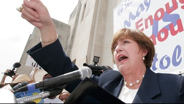 Former governor Kathleen Blanco put education first