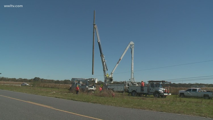 It could be another week before power comes back to some homes after Hurricane Zeta