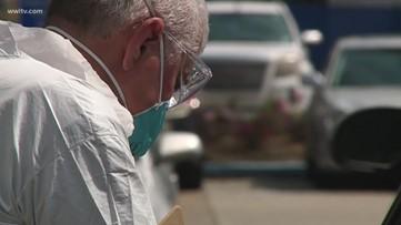 Drive-thru coronavirus test locations in Southeast Louisiana