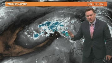 Eye on the Tropics: Humberto and a disturbance in the Gulf