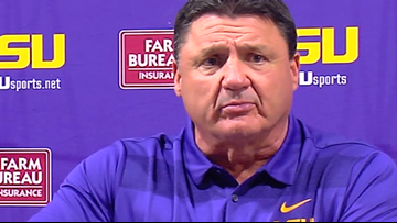 Don't mess with Coach O during a press conference